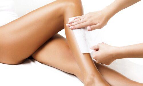Strip wax treatment