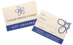 gift vouchers Tranquil Beauty Lounge in chadderton
